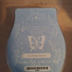 Scentsy Other - 🐞 5 for $25 🐞 Scentsy Wax Bar I'm Snow Over It